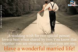 wish wedding wedding wishes sms