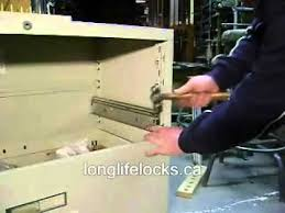 File Cabinet Locking System Repair File Cabinet Track Or Suspension Steelcase Youtube