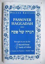 passover haggadah maxwell house haggadah judaism ebay
