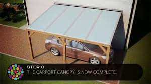 Car Carport Canopy Carport Canopy Installation Guide With Structured Polycarbonate