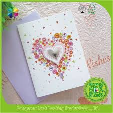Design Greetings Cards 3d Pop Up Handmade Flower Valentine Design Greeting Card Buy