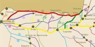 santiago de compostela camino etapas camino de santiago a pie o en bici