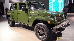 african jeep 2016 jeep wrangler unlimited 75th anniversary edition exterior