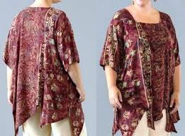 model baju atasan untuk orang gemuk 2015 model baju dan ッ 20 model baju batik wanita gemuk modis untuk kerja terbaru