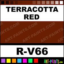 terracotta red spray paints r v66 terracotta red