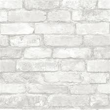 Peel And Stick Wallpaper by Grey And White Brick Peel And Stick Wallpaper Dorm Room Decor