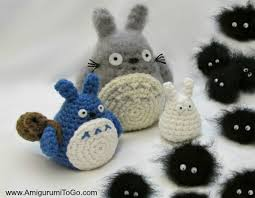 amigurumi patterns video totoro and soot sprites free pattern with video amigurumi to go