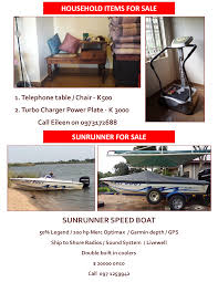 16 05 2017 household items for sale sunrunner for sale ad