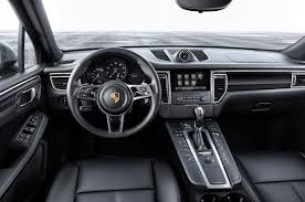 porsche macan base 2017 porsche macan adds 252 hp turbo four base model automobile