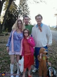 Halloween Costumes Scooby Doo Scooby Doo Gang Family Halloween Costume