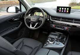 audi touchpad plin media 2017 audi q7 eloquently blends tech style