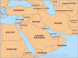 middle east map india india and the middle east decoding the look west policy my