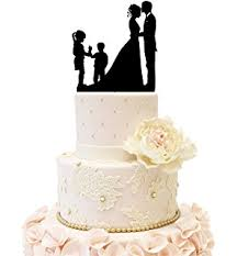 family wedding cake toppers family cake topper and groom with their