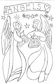 for christmas angel pages and angel coloring pages angels coloring
