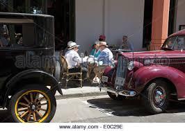 vintage car classic cars hawkes bay rally new zealand stock photo