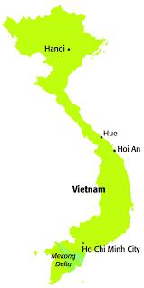 Saigon On World Map by Hanoi Vs Saigon Insidevietnam Blog