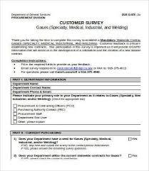 printable survey template printable survey template 10 free word