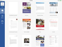 Best Resume App For Ipad by Explore Microsoft Word For Ipad Collaborate Share And Sync
