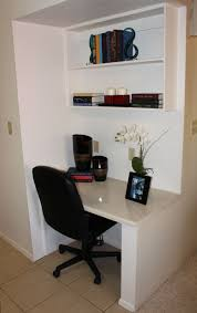 furniture good looking built in desk for home office design ideas