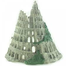 large castle ruins fish tank aquarium ornament
