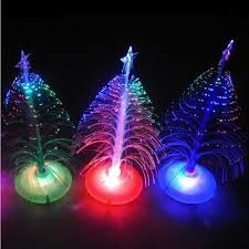 amazon com usb 7 colors fiber optic christmas tree with top star
