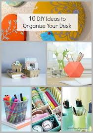 Desk Organization Diy 10 Diy Ideas To Organize Your Desk Everything Etsy Crafts