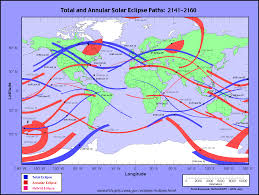 Map Of Us With Time Zones by Nasa Solar Eclipse Page
