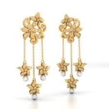 gold ear ring image gold earring designs online in india 2018 best price