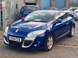 used renault megane dynamique 2 doors cars for sale motors co uk