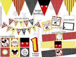 mickey mouse u0026 stud muffin birthday invitations the scrap shoppe