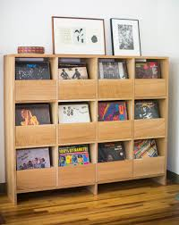 Record Player Cabinet Plans by Simple And Classy Ways To Store Your Vinyl Record Collection