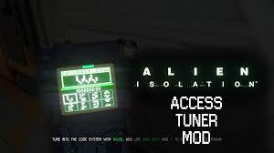 access tuner hack file alien isolation mod db