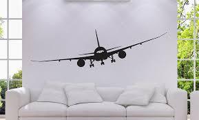 amazon com airplane boeing 787 jet airplane mural vinyl wall