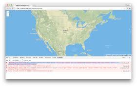Js Map Cors Errors Mapbox