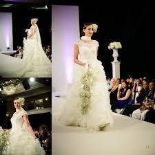 luxury wedding show at park lane hilton wedding catwalk