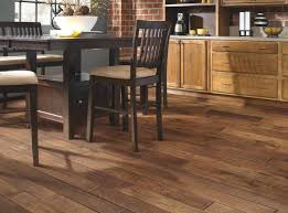 solid parquet flooring nailed hickory matte finish smoky