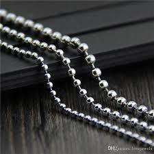 silver vintage necklace images 2018 designer jewelry vintage 925 sterling silver round bead jpg