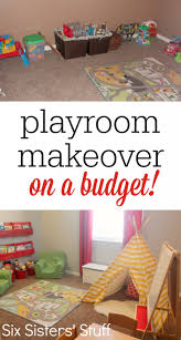 check out our kid u0027s playroom makeover on a budget a few small