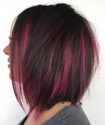 black hair to raspberry hair 40 two tone hair styles