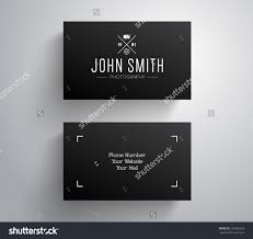 card photography business card template