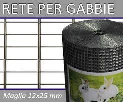 rete metallica per gabbie rete per gabbie 12x25 filo 1 40 metallica