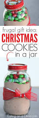 christmas cookies in a jar simple cookie recipe in mason jar