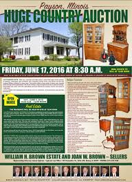 sullivan auctioneersupcoming events huge antique and
