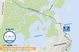Jersey Shore Map Tri The Wildwoods Triathlon