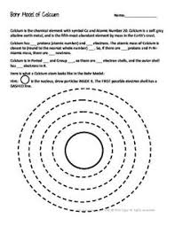 bohr model worksheets free worksheets library download and print