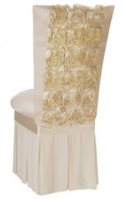 rosette chair covers lovely rosette chair covers in modern home decoration ideas c50