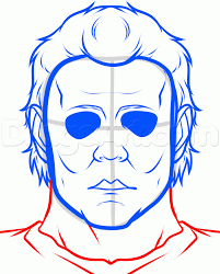 how to draw michael myers easy step by step characters pop