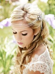 headbands that go across your forehead bridal headpiece hair chain forehead silver