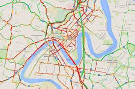 Maps Traffic Brisbane Traffic Map Traffic Map Brisbane Australia