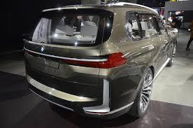 bmw minivan concept bmw u0027s huge x7 iperformance concept arrives in la